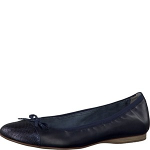 Tamaris-Schuhe-Ballerinas-NAVY/STRUCTURE-Art.:1-1-22129-28/854