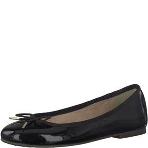 Tamaris-Schuhe-Ballerinas-BLACK-PATENT-Art.:1-1-22123-29/018