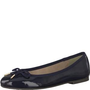 Tamaris-Schuhe-Ballerinas-NAVY-PATENT-Art.:1-1-22123-29/826