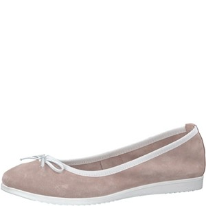 Tamaris-Schuhe-Ballerinas-ROSE/WHITE-Art.:1-1-22102-20/604