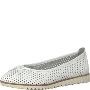 Tamaris-Schuhe-Ballerinas-WHITE-Art.:1-1-22121-20/100