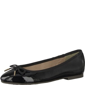 Tamaris-Schuhe-Ballerinas-BLACK-PATENT-Art.:1-1-22123-20/018