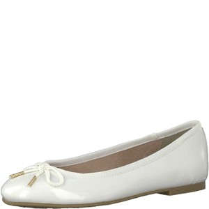 Tamaris-Schuhe-Ballerinas-WHITE-PATENT-Art.:1-1-22123-20/123