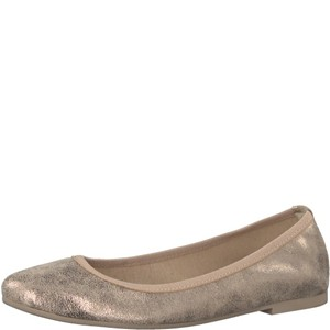 Tamaris-Schuhe-Ballerinas-CHAMPAGNE-MET.-Art.:1-1-22128-20/192