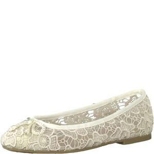 Tamaris-Schuhe-Ballerinas-BEIGE-MACRAMEE-Art.:1-1-22142-20/401