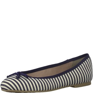 Tamaris-Schuhe-Ballerinas-NAVY-STRIPES-Art.:1-1-22142-20/865