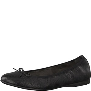 Tamaris-Schuhe-Ballerinas-BLACK-STRUCT-Art.:1-1-22129-20/706