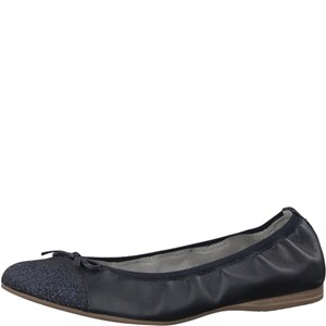 Tamaris-Schuhe-Ballerinas-NAVY/GLAM-Art.:1-1-22129-20/724