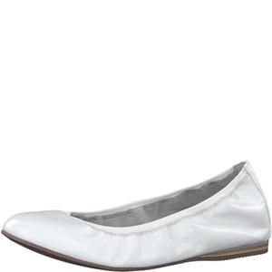 Tamaris-Schuhe-Ballerinas-WHITE-PLAIN-Art.:1-1-22134-30/181