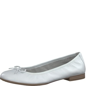 Tamaris-Schuhe-Ballerinas-WHITE-LEATH-Art.:1-1-22116-20/127