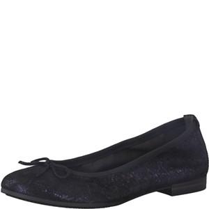 Tamaris-Schuhe-Ballerinas-NAVY-STRUCTURE-Art.:1-1-22116-21/855