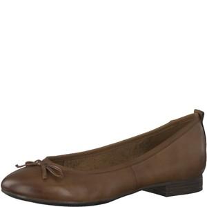 Tamaris-Schuhe-Ballerinas-COGNAC-Art.:1-1-22114-21/305