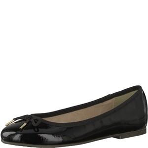 Tamaris-Schuhe-Ballerinas-BLACK-PATENT-Art.:1-1-22123-21/018