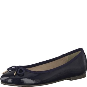 Tamaris-Schuhe-Ballerinas-NAVY-PATENT-Art.:1-1-22123-21/826