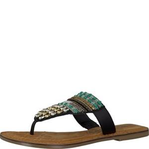 Tamaris-Schuhe-Pantolette-BLACK-COMB-Art.:1-1-27100-28/098