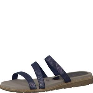 Tamaris-Schuhe-Pantolette-NAVY-STRUCTURE-Art.:1-1-27102-28/855