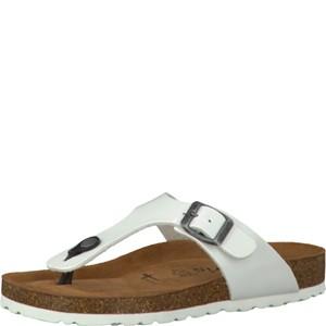 Tamaris-Schuhe-Pantolette-WHITE-PATENT-Art.:1-1-27104-28/123