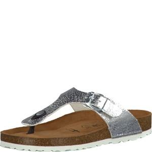 Tamaris-Schuhe-Pantolette-SILVER-METALL.-Art.:1-1-27104-28/933