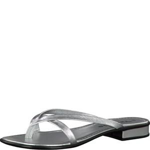 Tamaris-Schuhe-Pantolette-SILVER-STRUCT.-Art.:1-1-27107-28/927
