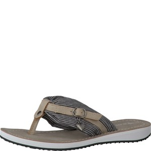 Tamaris-Schuhe-Pantolette-BLK-VICHY-COMB-Art.:1-1-27109-28/023