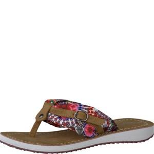 Tamaris-Schuhe-Pantolette-FLOWER/NUT-Art.:1-1-27109-28/920