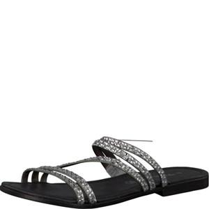 Tamaris-Schuhe-Pantolette-SMOKE/SILVER-Art.:1-1-27113-28/295