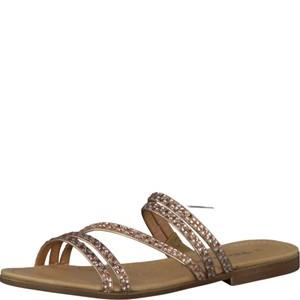 Tamaris-Schuhe-Pantolette-ROSE/SILVER-Art.:1-1-27113-28/594