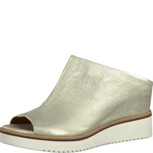 Tamaris-Schuhe-Pantolette-LIGHT-GOLD-Art.:1-1-27200-28/909