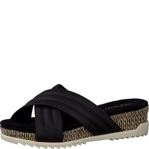 Tamaris-Schuhe-Pantolette-BLACK-Art.:1-1-27203-28/001