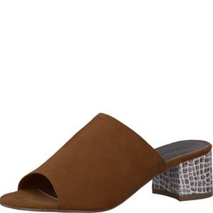 Tamaris-Schuhe-Pantolette-COGNAC-COMB-Art.:1-1-27204-28/392
