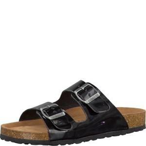 Tamaris-Schuhe-Pantolette-BLACK-PATENT-Art.:1-1-27501-28/018