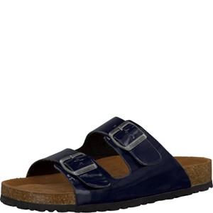 Tamaris-Schuhe-Pantolette-NAVY-PATENT-Art.:1-1-27501-28/826