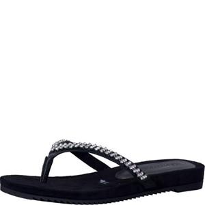 Tamaris-Schuhe-Pantolette-BLACK-STRUCT.-Art.:1-1-27118-38/006
