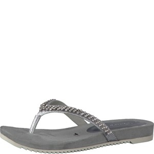 Tamaris-Schuhe-Pantolette-SILVER-STRUCT.-Art.:1-1-27118-38/927