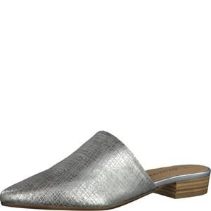 Tamaris-Schuhe-Pantolette-SILVER-METALL.-Art.:1-1-27304-38/933