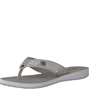 Tamaris-Schuhe-Pantolette-SIL.GLM/L.GR.S-Art.:1-1-27117-38/977