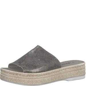 Tamaris-Schuhe-Pantolette-PEWTER-Art.:1-1-27205-28/915