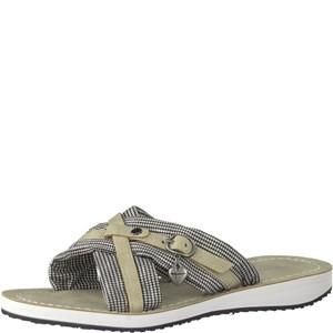 Tamaris-Schuhe-Pantolette-BLK-VICHY-COMB-Art.:1-1-27105-38/023