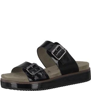 Tamaris-Schuhe-Pantolette-BLACK-PATENT-Art.:1-1-27135-38/018