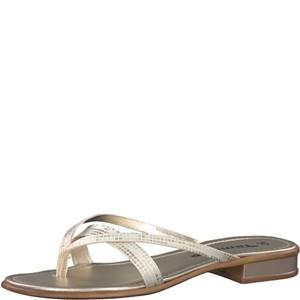 Tamaris-Schuhe-Pantolette-LIGHT-GOLD-Art.:1-1-27107-20/909