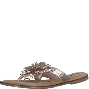 Tamaris-Schuhe-Pantolette-LIGHT-GOLD-Art.:1-1-27127-20/909