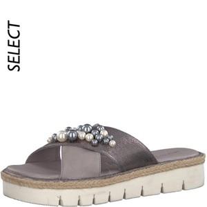 Tamaris-Schuhe-Pantolette-STONE/PEWTER-Art.:1-1-27220-20/290