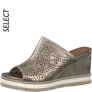 Tamaris-Schuhe-Pantolette-LIGHT-GOLD-Art.:1-1-27236-20/909