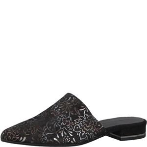 Tamaris-Schuhe-Pantolette-BLACK/METALLIC-Art.:1-1-27304-20/089