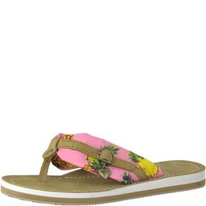 Tamaris-Schuhe-Pantolette-PINK-PINEAPPLE-Art.:1-1-27109-20/625