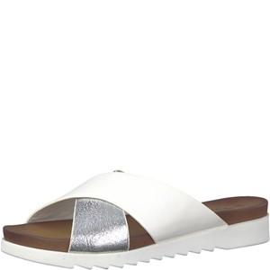 Tamaris-Schuhe-Pantolette-WHITE/SILV.MET-Art.:1-1-27229-20/116