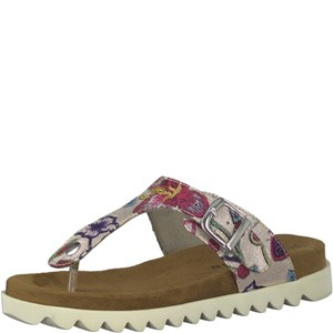 Tamaris-Schuhe-Pantolette-SILVER-FLOWER-Art.:1-1-27137-30/755