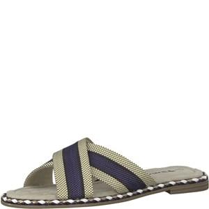 Tamaris-Schuhe-Pantolette-NAVY-COMB-Art.:1-1-27138-30/890
