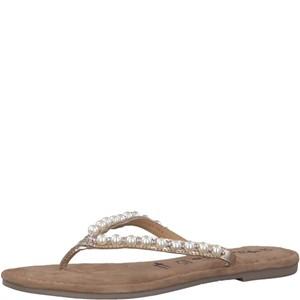 Tamaris-Schuhe-Pantolette-LIGHT-GOLD-Art.:1-1-27141-30/909