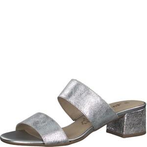 Tamaris-Schuhe-Pantolette-SILVER-METALL.-Art.:1-1-27231-20/933